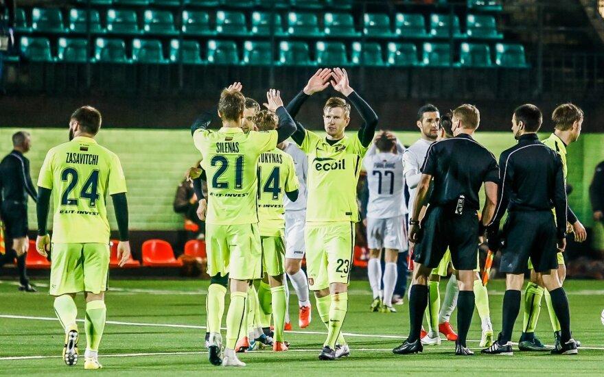 """""""Trakai"""" pasiuntė į nokautą """"Sūduvą"""" ir priartėjo prie LFF taurės finalo"""