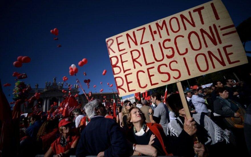 Protestai Romoje