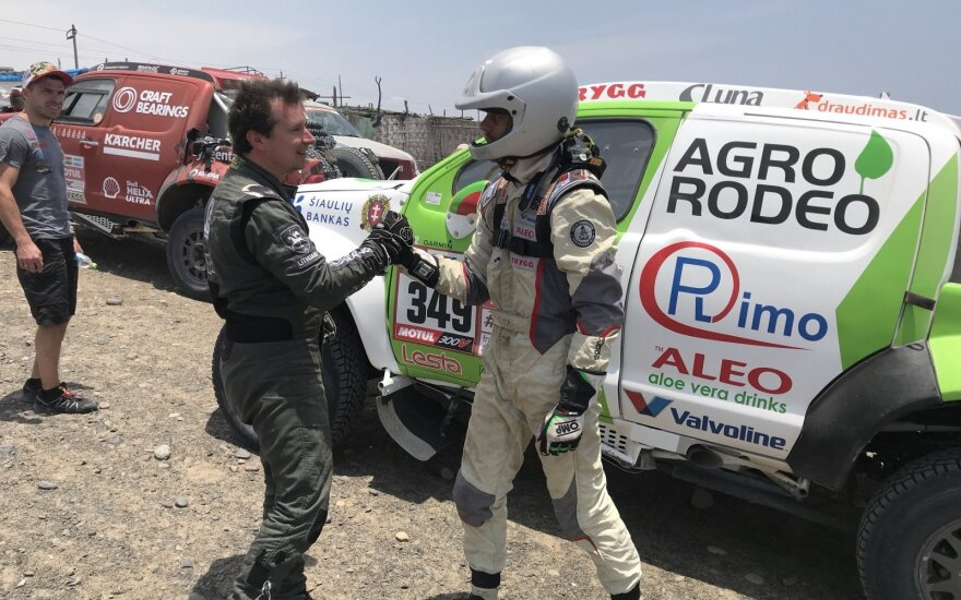 Penktasis Dakaro 2018 etapas