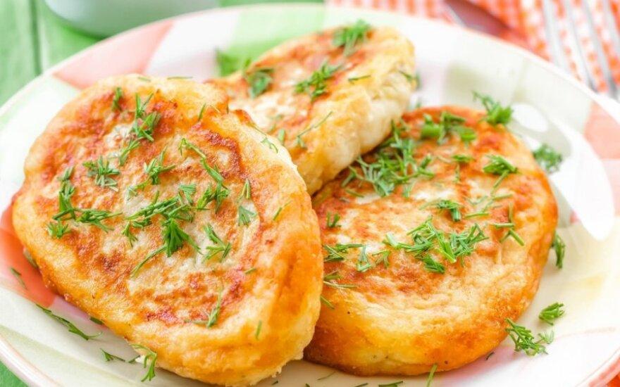 Bulviniai zrazai su traškia sūrio plutele