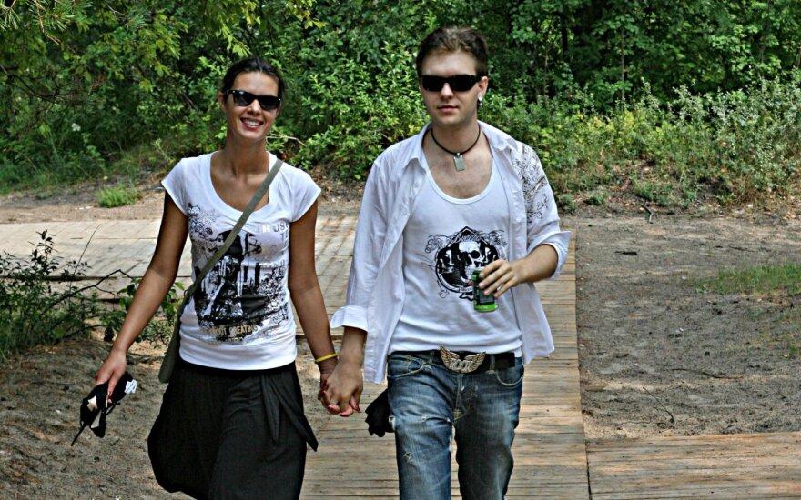 Vudis (Arvydas Martinėnas) ir Sandra Stučinskaitė. Jordžio Šatūno nuotr.