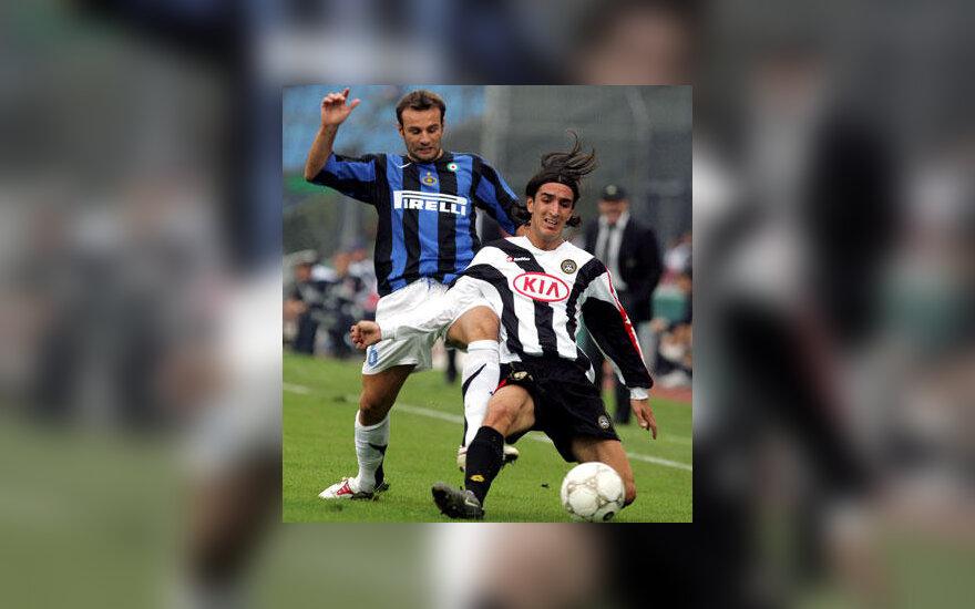 "Cristiano Zanetti (""Inter"", kairėje)"