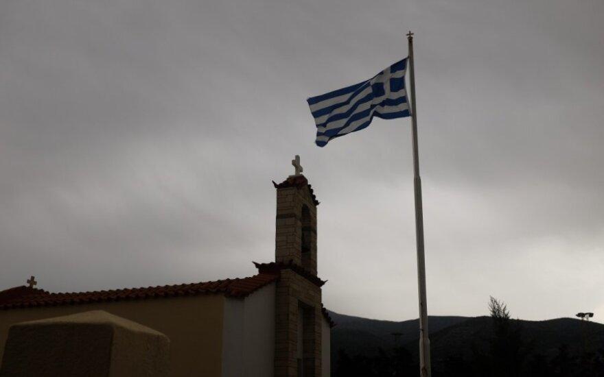 Didina spaudimą Graikijai