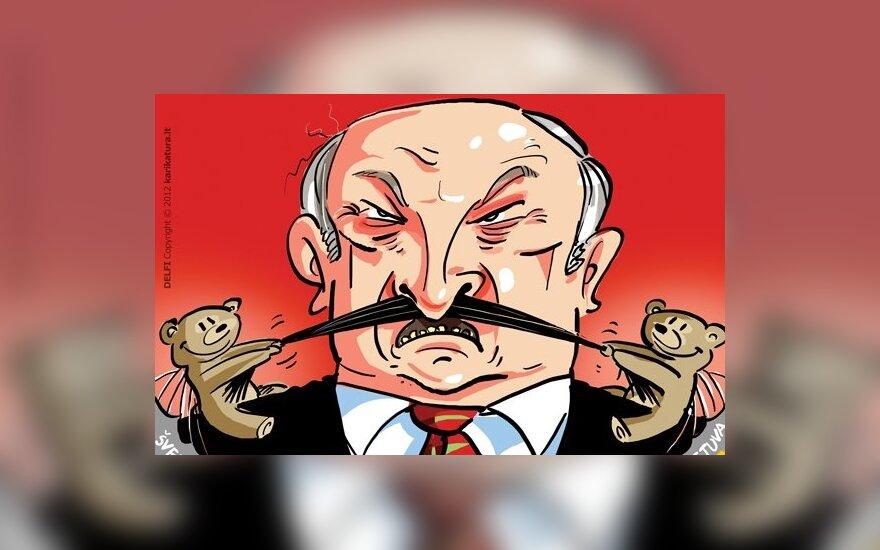 Aleksandras Lukašenka, pliušiniai meškiukai