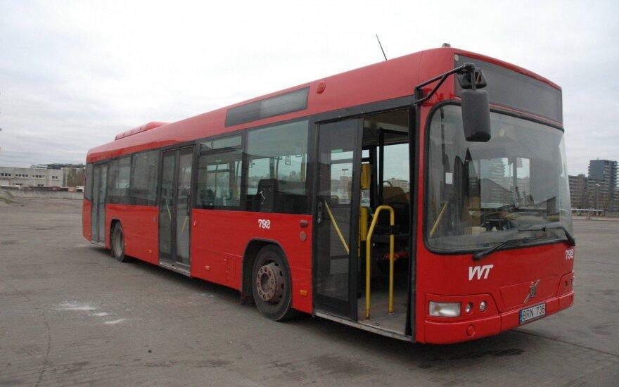 Vilniaus autobusai, L. Jakubauskienės nuotr.