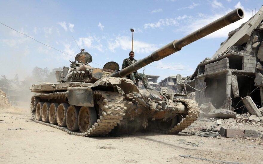 """Kremlius: žinome, kad Sirijos kariuomenė ruošiasi išspręsti """"terorizmo problemą"""" Idlibe"""