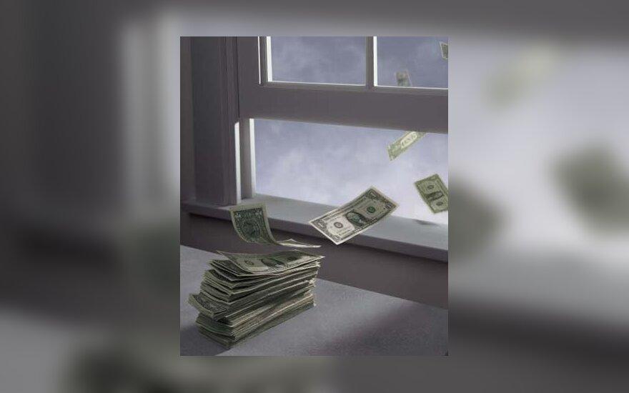 Pinigai, nuostoliai