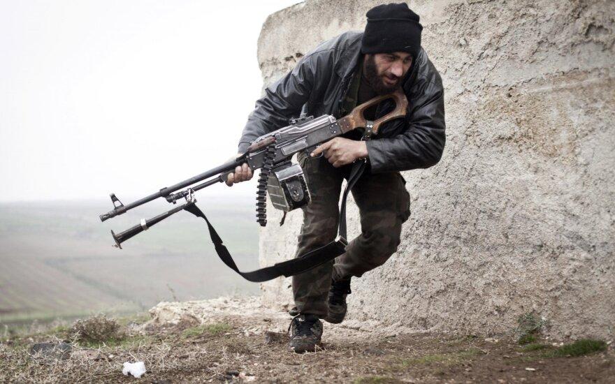 Rusija, JAV, Saudo Arabija ir Turkija surengs derybas dėl konflikto Sirijoje