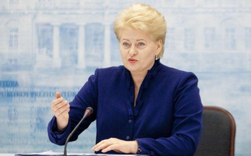 D.Grybauskaitė sukritikavo VMI, politikus kaltina teisėsaugos institucijų politizavimu