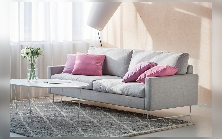 """Dvivietė sofa """"Free"""" (ISKU nuotr.)"""