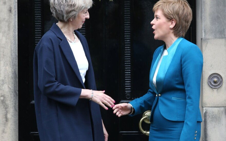 Theresa May, Nicola Sturgeon