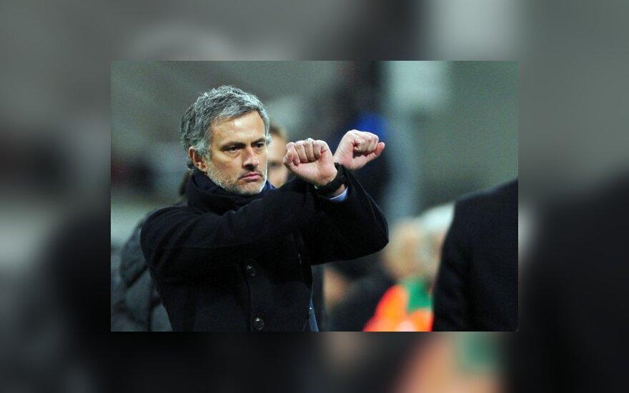 """Inter"" treneris Jose Mourinho"