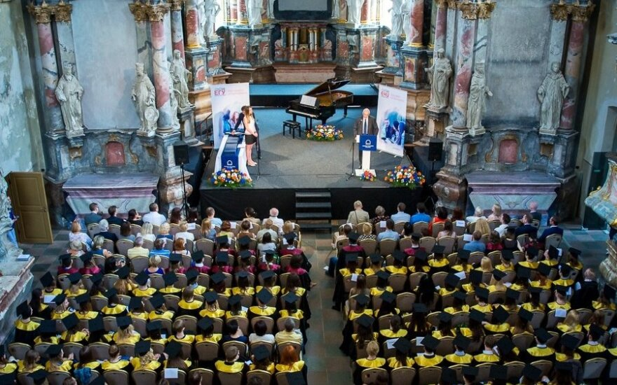 European Humanities University graduation in Vilnius 2016