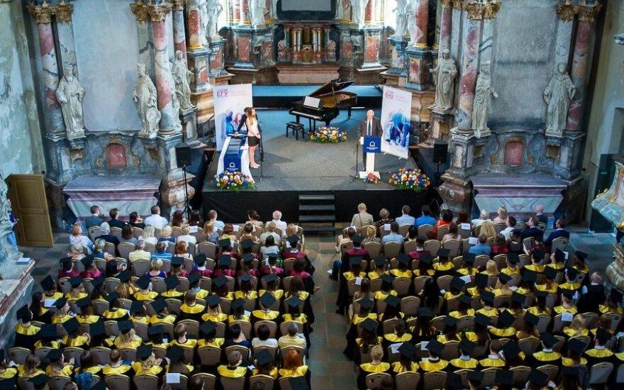 European Humanities University graduation in Vilnius 2016