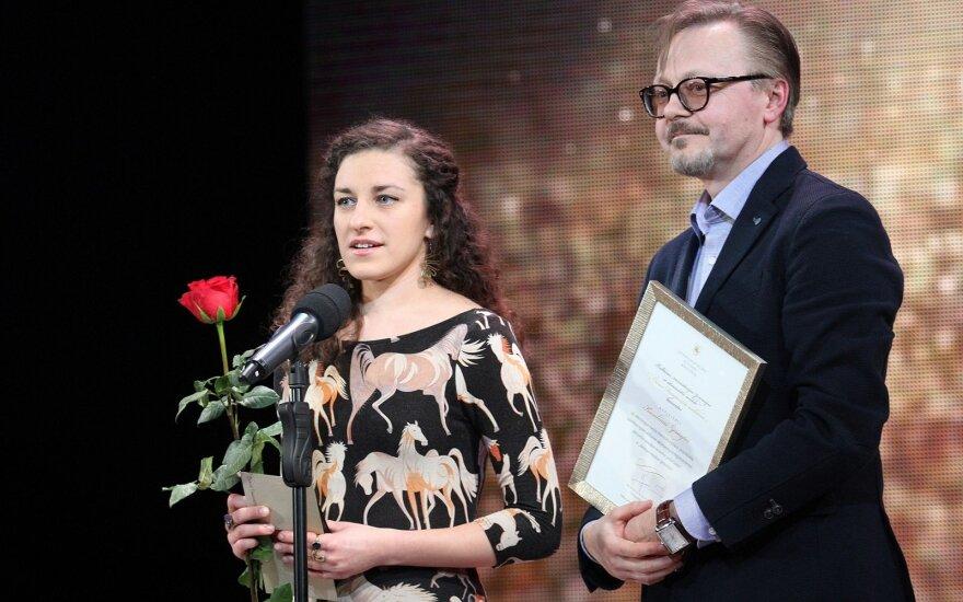 Karolina Žernytė  ir Darius Meškauskas