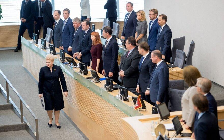 Vyriausybė Seimo pavasario sesijai siūlo 128 įstatymų projektų paketus