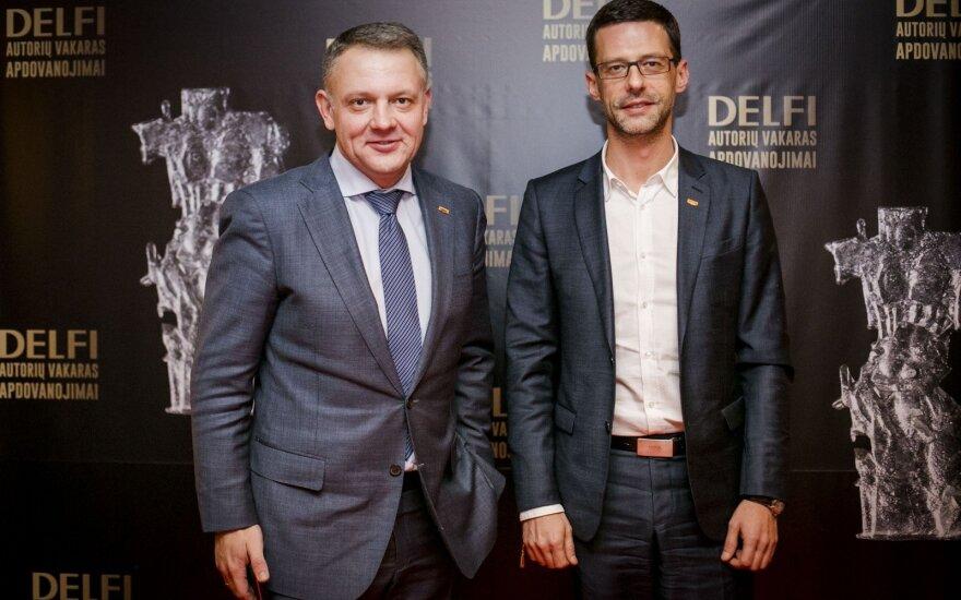 Eligijus Masiulis ir Šarūnas Gustainis