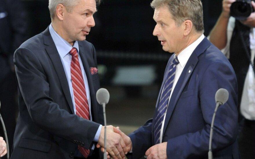 Pekka Haavisto ir Sauli Niinistoe