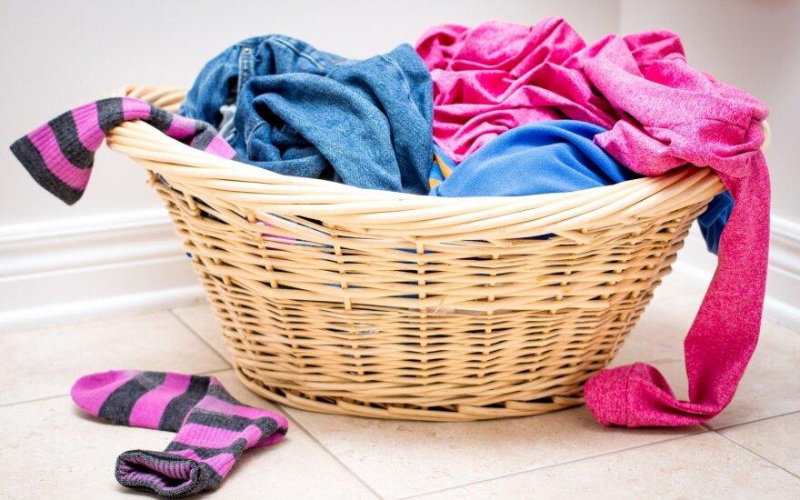 Klaidos, kurių galima išvengti skalbiant