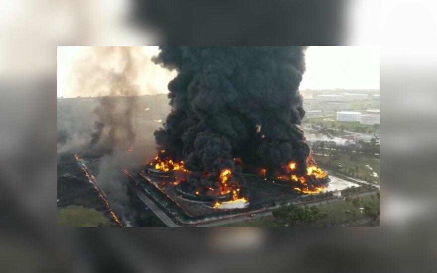 Sprogimas naftos perdirbimo įmonėje (u/maiyare/ www.reddit.com)