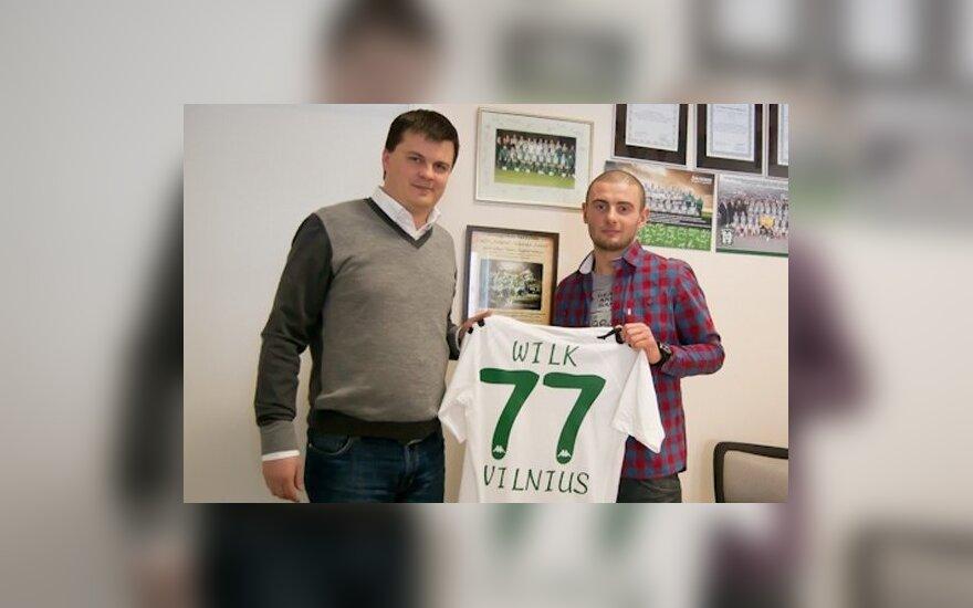 Mindaugas Nikoličius ir Jakubas Wilkas