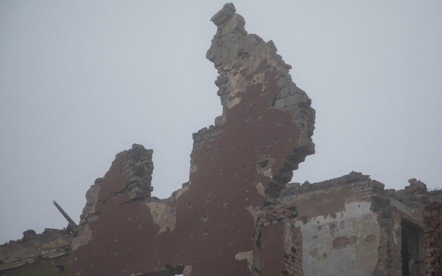 Sugriauta psichiatrijos ligoninė Semionovkoje