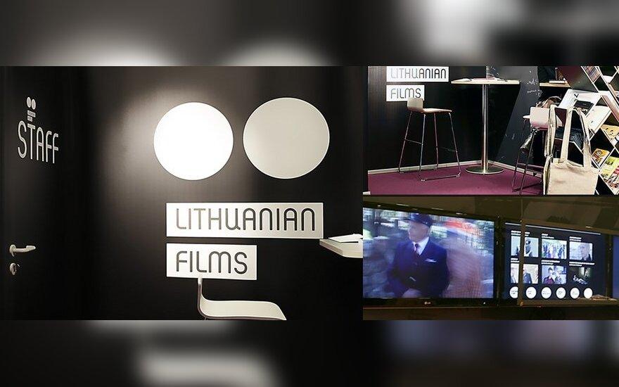 """""""Lithuanian Films"""" stendas Europos filmų mugėje"""