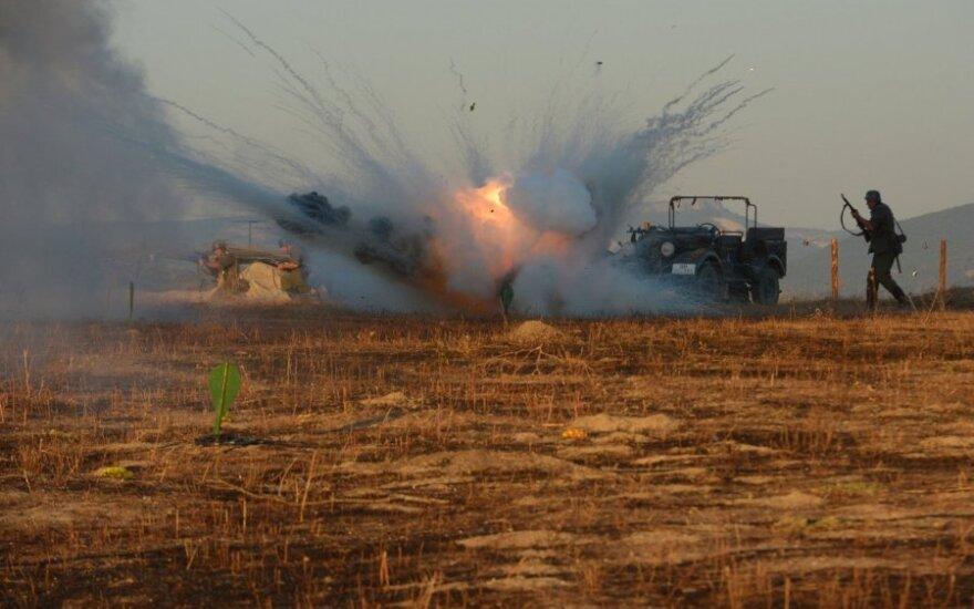 """""""Spiegel"""": Rusijos kariai jau kovoja ir ant Sirijos žemės"""