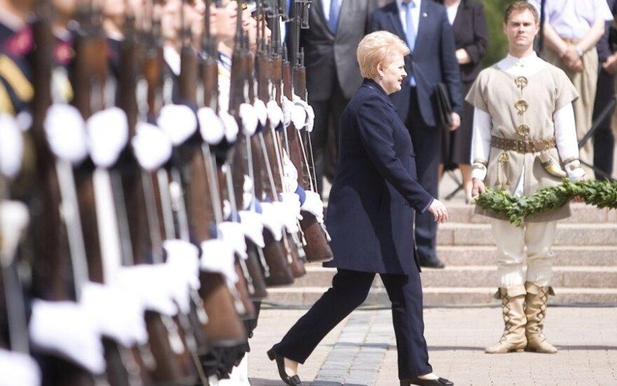 D. Grybauskaitė apie pirmininkavimą ES: jei turėsime galios, būsime geležiniai