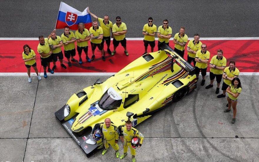 1006 km lenktynėse debiutuoja Slovakijos komanda