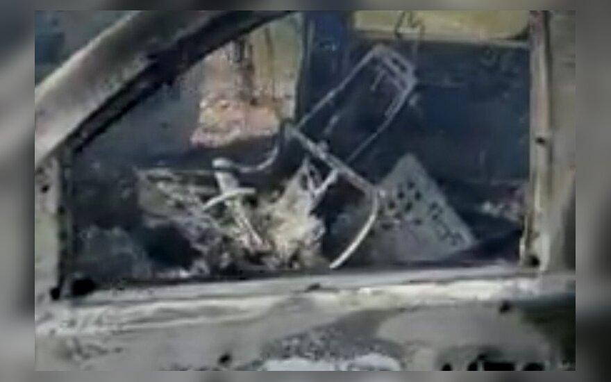 Meksikoje kartelio nariai užpuolė mormonų šeimos automobilį