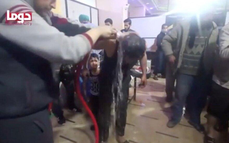 Stringa tyrimas dėl cheminės atakos Sirijoje