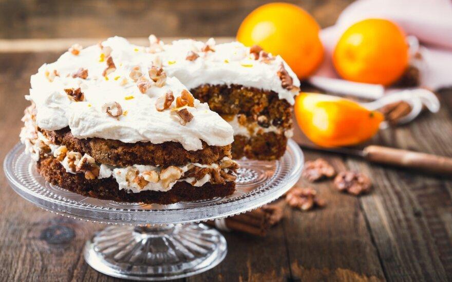 Pats skaniausias morkų tortas su maskarpone