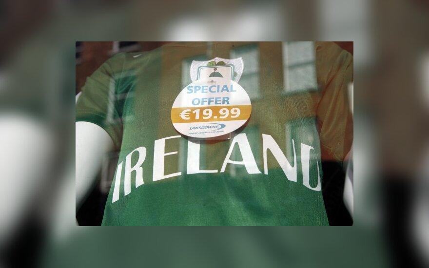 Airija derasi su ES dėl pagalbos
