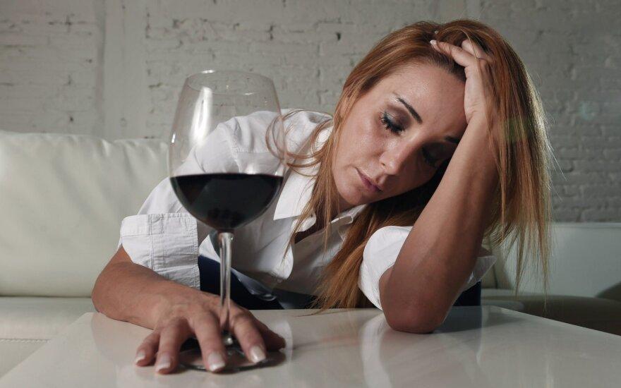 5 ženklai, kad jūs priklausomas nuo alkoholio