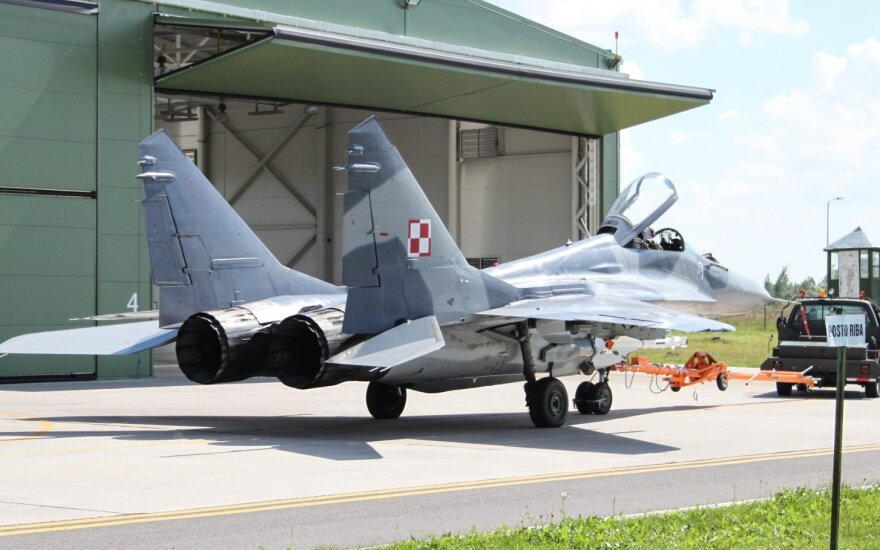 NATO air capabilities to train in Lithuania