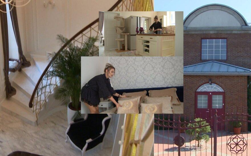 Natalijos Bunkės naujieji namai
