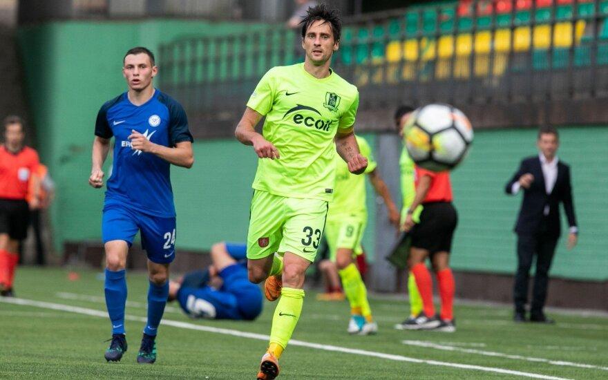 "UEFA Europos lygos pirmasis etapas FK ""Trakai"" - FC Irtysh Pavlodar"
