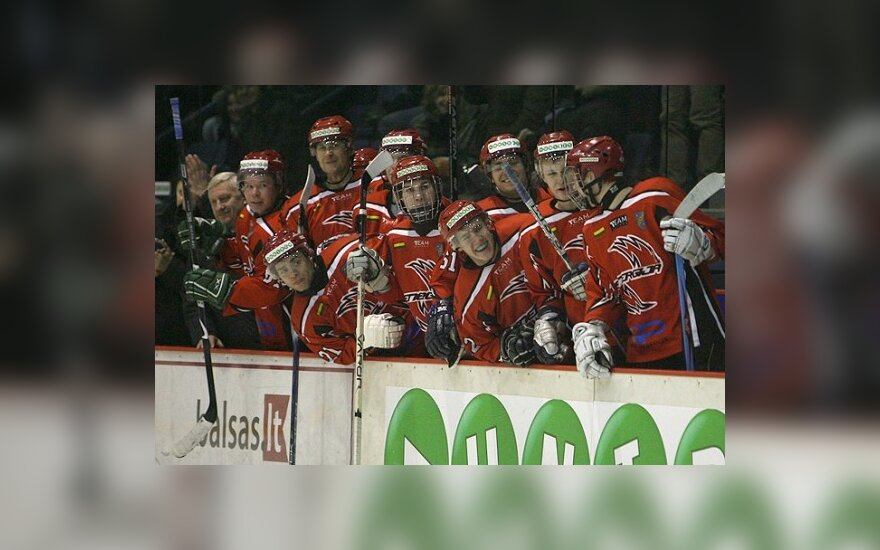 """Triuškinanti """"Energijos"""" nesėkmė Latvijos ledo ritulio čempionate"""