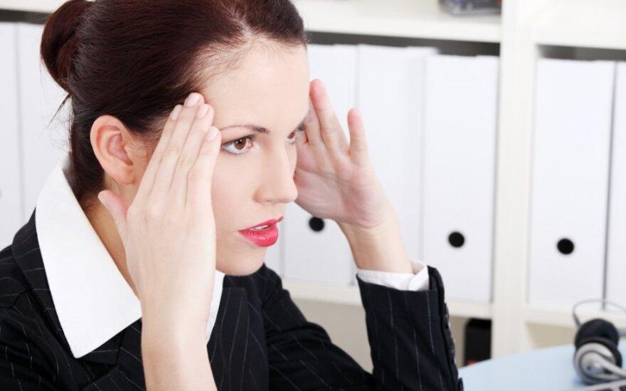 Nuolatinis nerimas gali būti rimto negalavimo požymis
