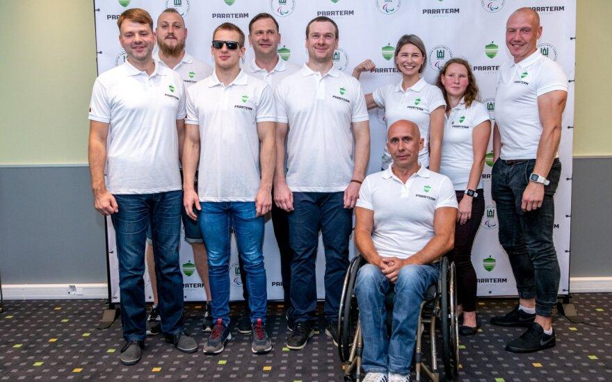 """Lietuvos paralimpinė komanda turi naują vardą – """"Parateam Lietuva"""". / FOTO: paralympics.lt"""