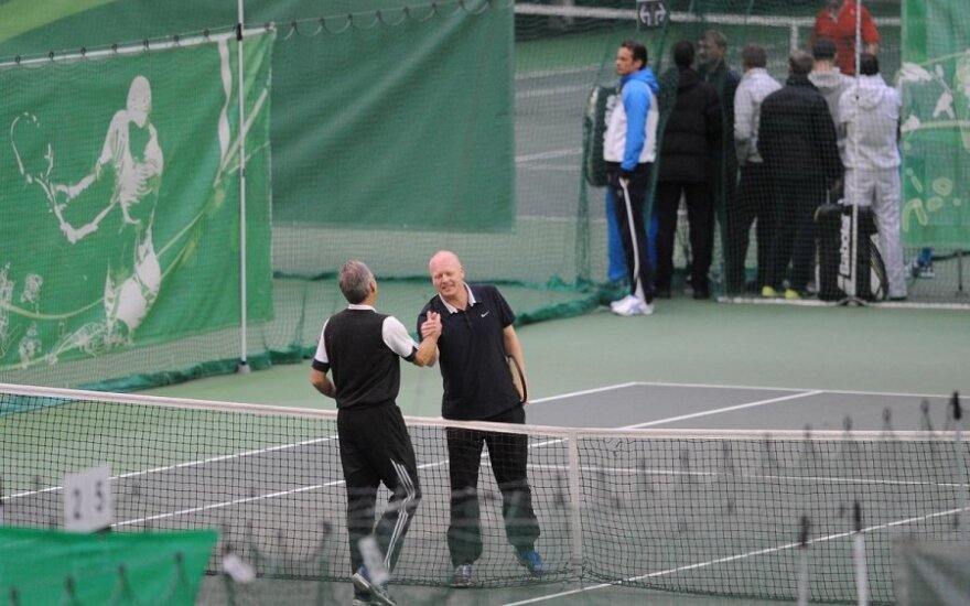 Senjorų teniso turnyras Vilniuje