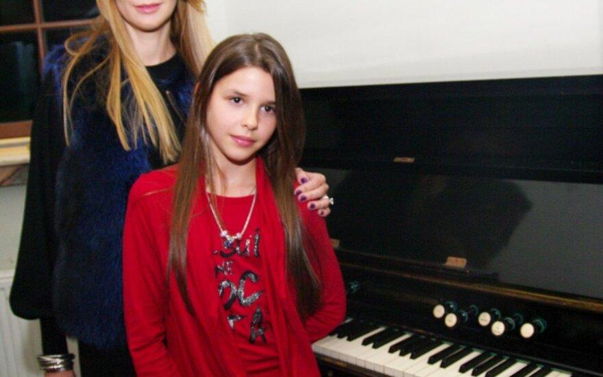Daina Bosas su dukrele Marija