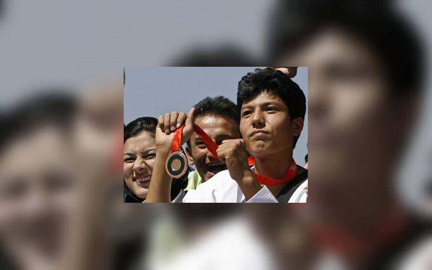 Afganų olimpietis