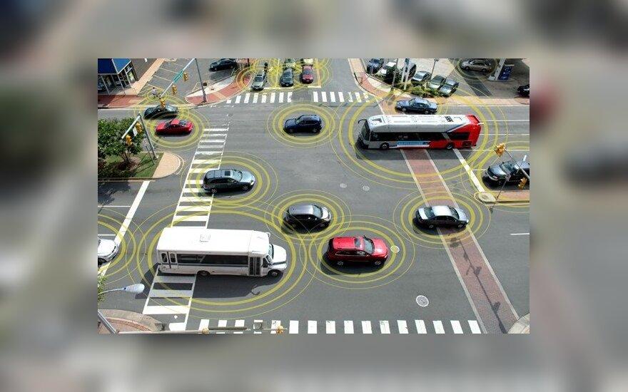 Automobilių bendravimo sistema