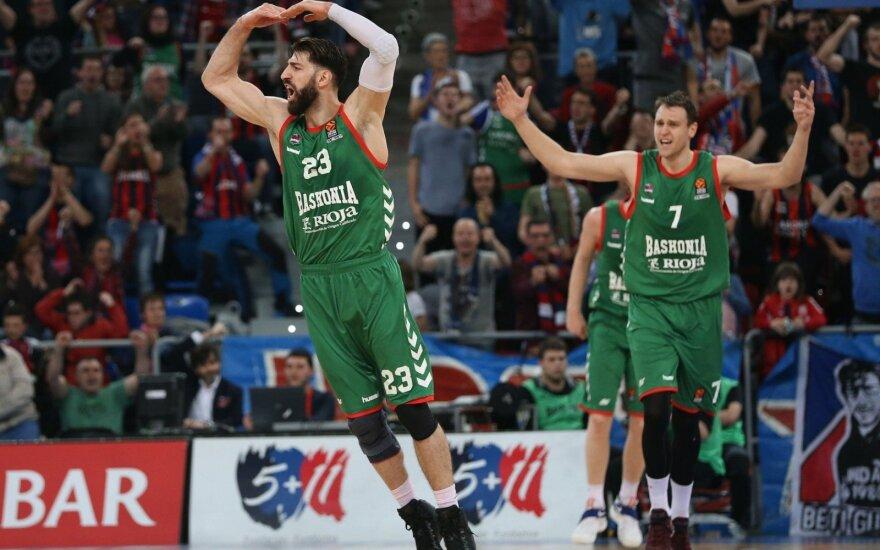 """Sutartį su """"Baskonia"""" pratęsęs Šengelija – geriausiai apmokamų Europos krepšininkų gretose"""