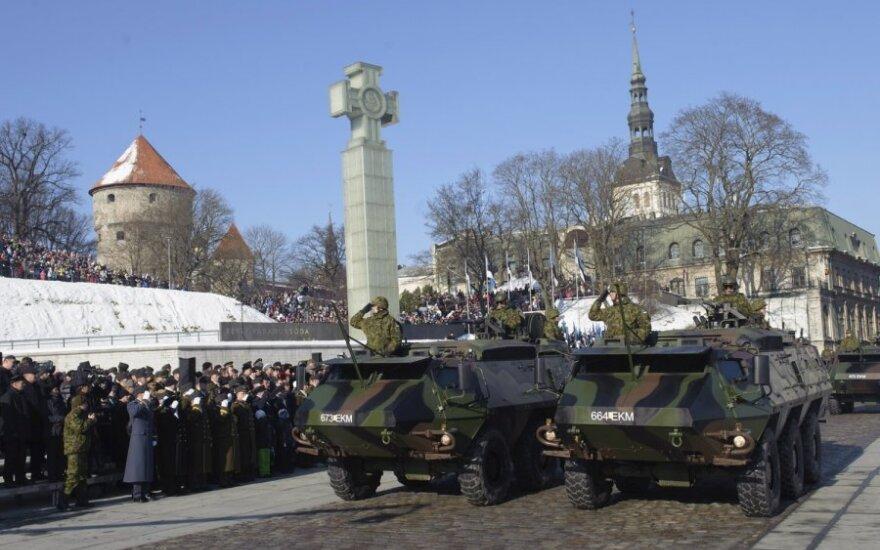 Estija mini nepriklausomybės dieną