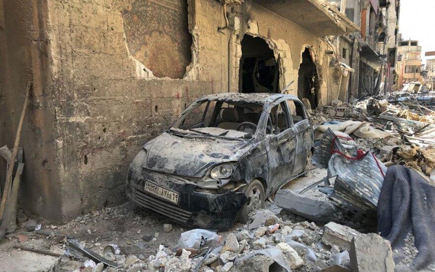 Sirija skelbia apie naują ataką