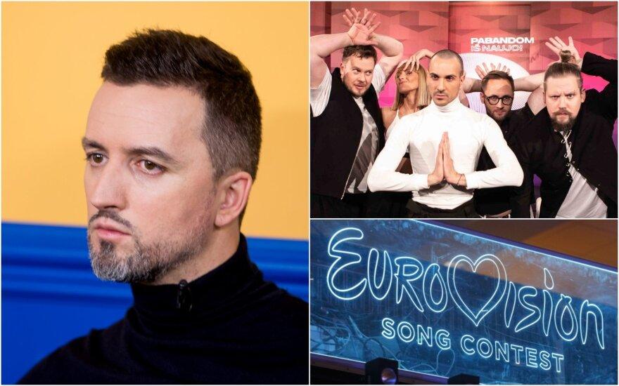 L. Lučiūnas, The Roop, Eurovizija