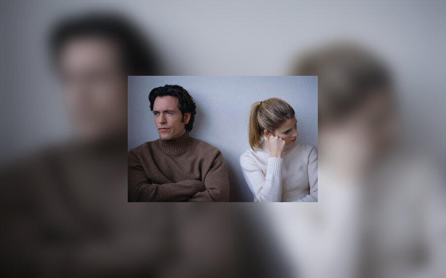 Pora, vyras ir moteris, konfliktas